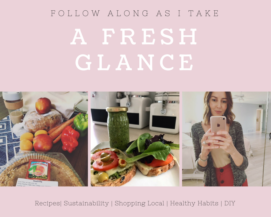 recipes, DIY, healthy eating, sustainability, shop local